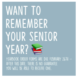 Yearbook Order Deadline Approaching