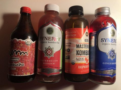 Taste-Testing Four Kinds of Kombucha